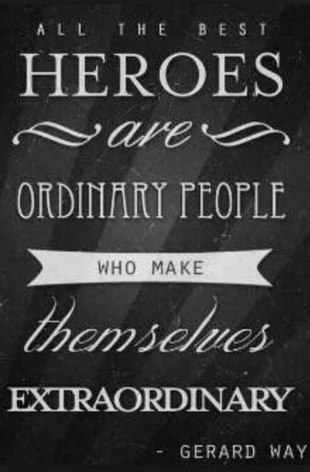 Anyone And Everyone Can Be A Hero School Decor Design Hero