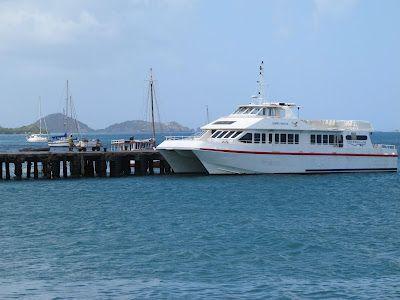 Cariacou, une île des Caraïbes