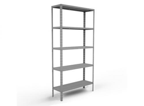 1,80 x 0,86 x 0,28 (nova) 05 prateleiras estante de aço cinza - super oferta