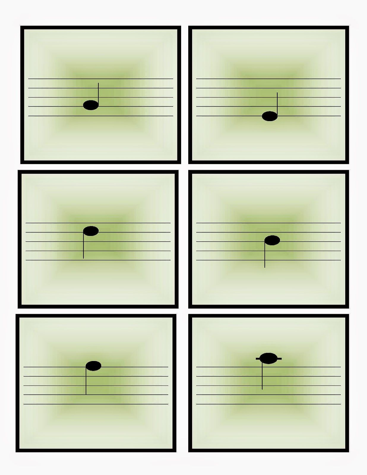 Note Spelling Cards Little Mozarts Conservatory