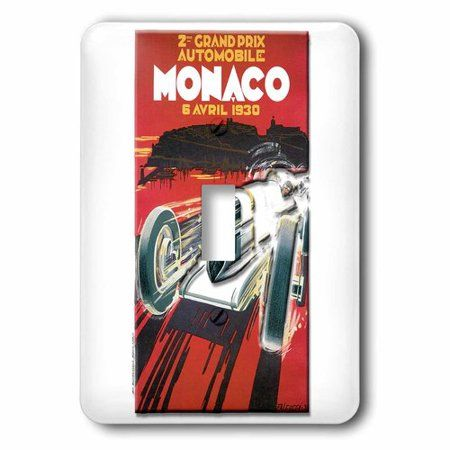 3drose Monaco Grand Prix Advertising Poster, Single Toggle