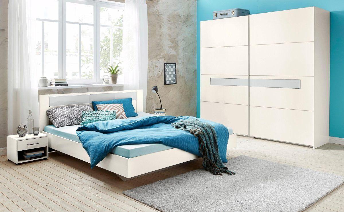 SchlafzimmerSet mit Schwebetürenschrank weiß, WIMEX Jetzt