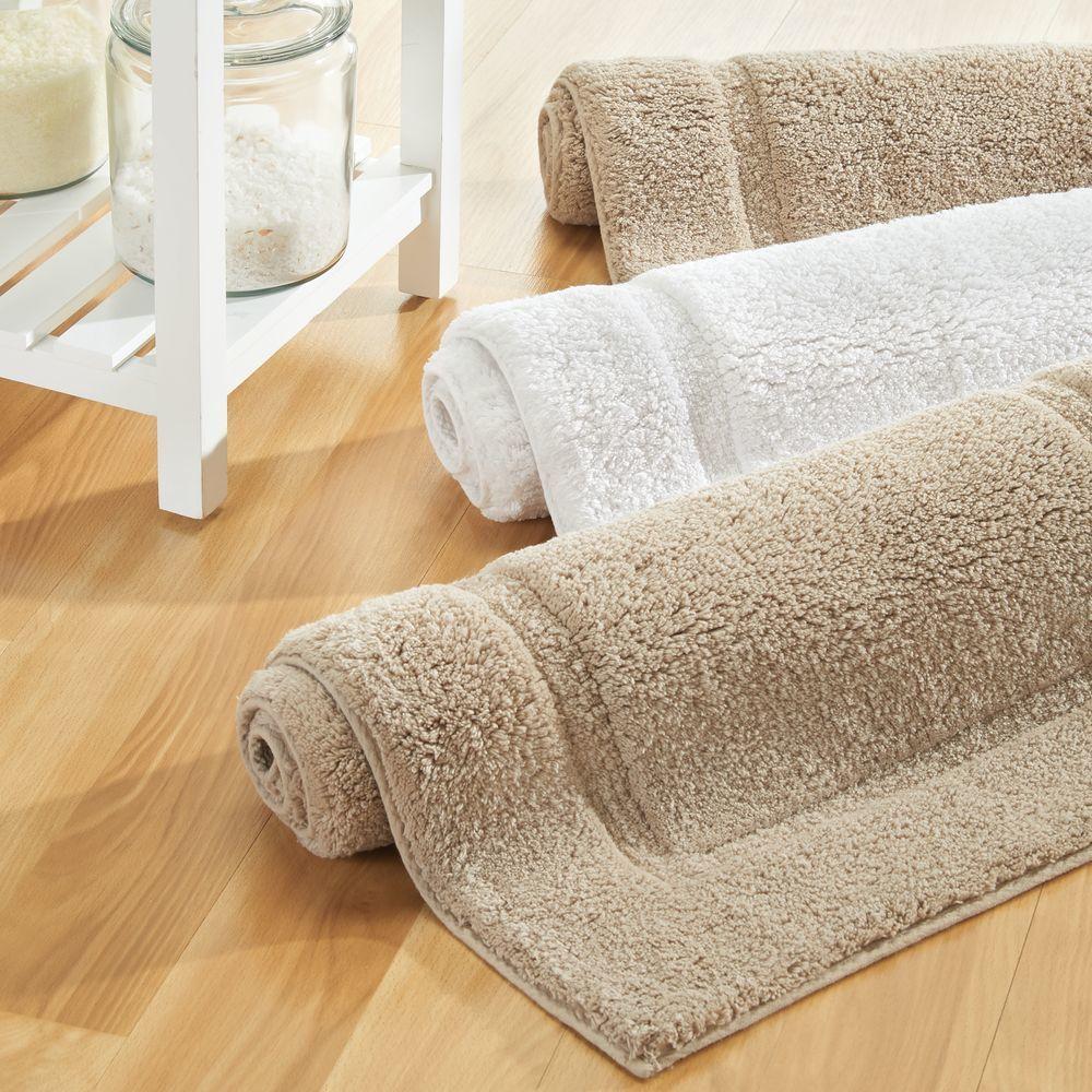 Cotton Bath Mat Rectangular Bathroom Rug 34 X 21 Pack Of 2 Cotton Bath Mats Bathroom Rugs Cotton Bathroom Rugs [ 1000 x 1000 Pixel ]