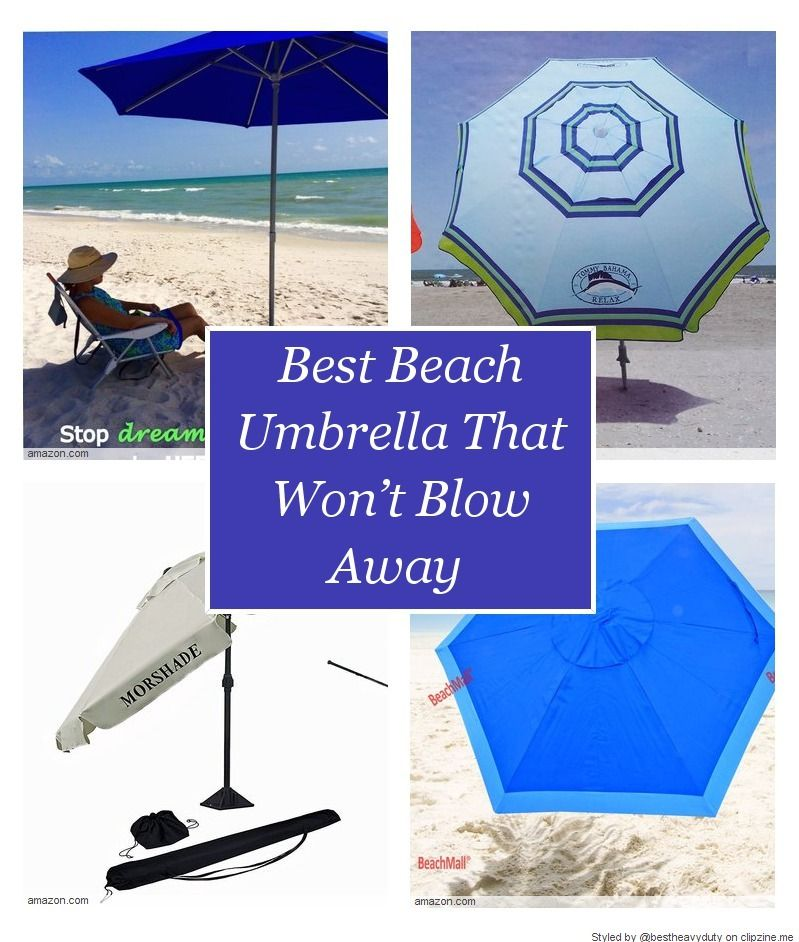 Best Heavy Duty Beach Umbrellas