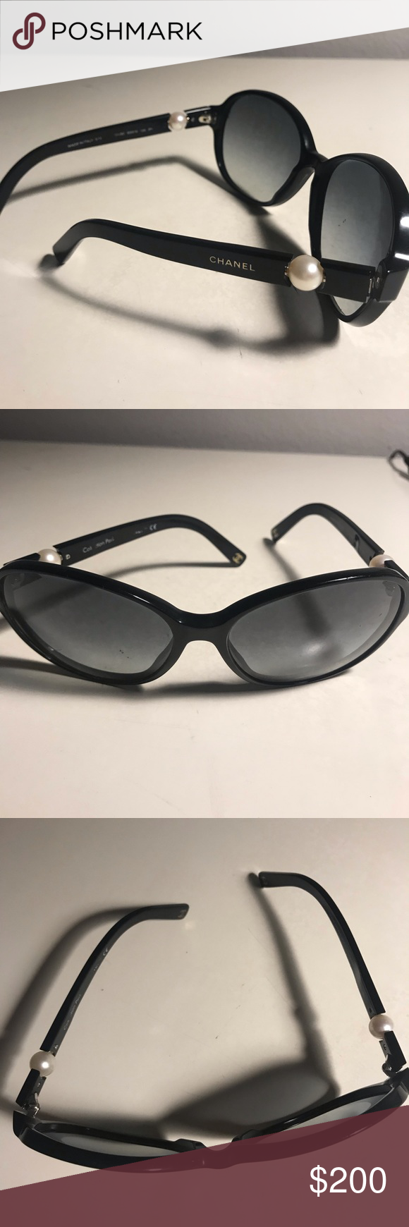 54f96df92ee Authentic Chanel sunglasses Authentic Chanel sunglasses -Pearl collection  Some scratches CHANEL Accessories Glasses