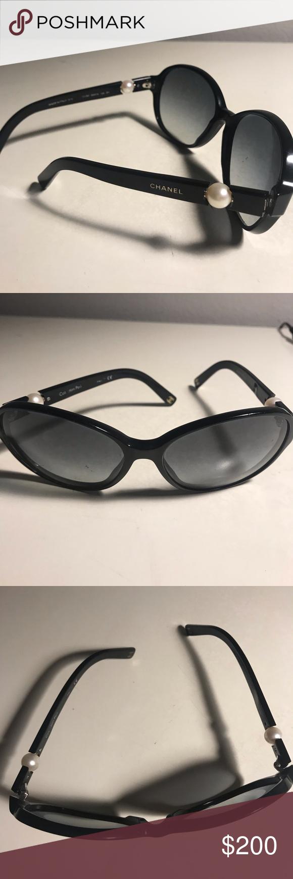 f10dee7a753e Authentic Chanel sunglasses Authentic Chanel sunglasses -Pearl collection  Some scratches CHANEL Accessories Glasses