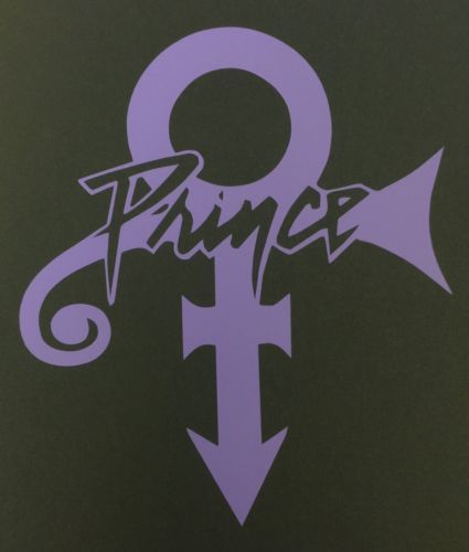 Forever in My Life Decal Prince Rogers Nelson BOGO