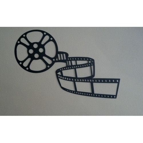 Found it at Wayfair - Movie Reel and Film Home Theater Metal Wall ...