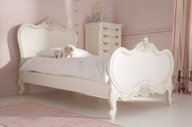 Lola Distressed White Princess Bed Single Bed Want In Queen Kids