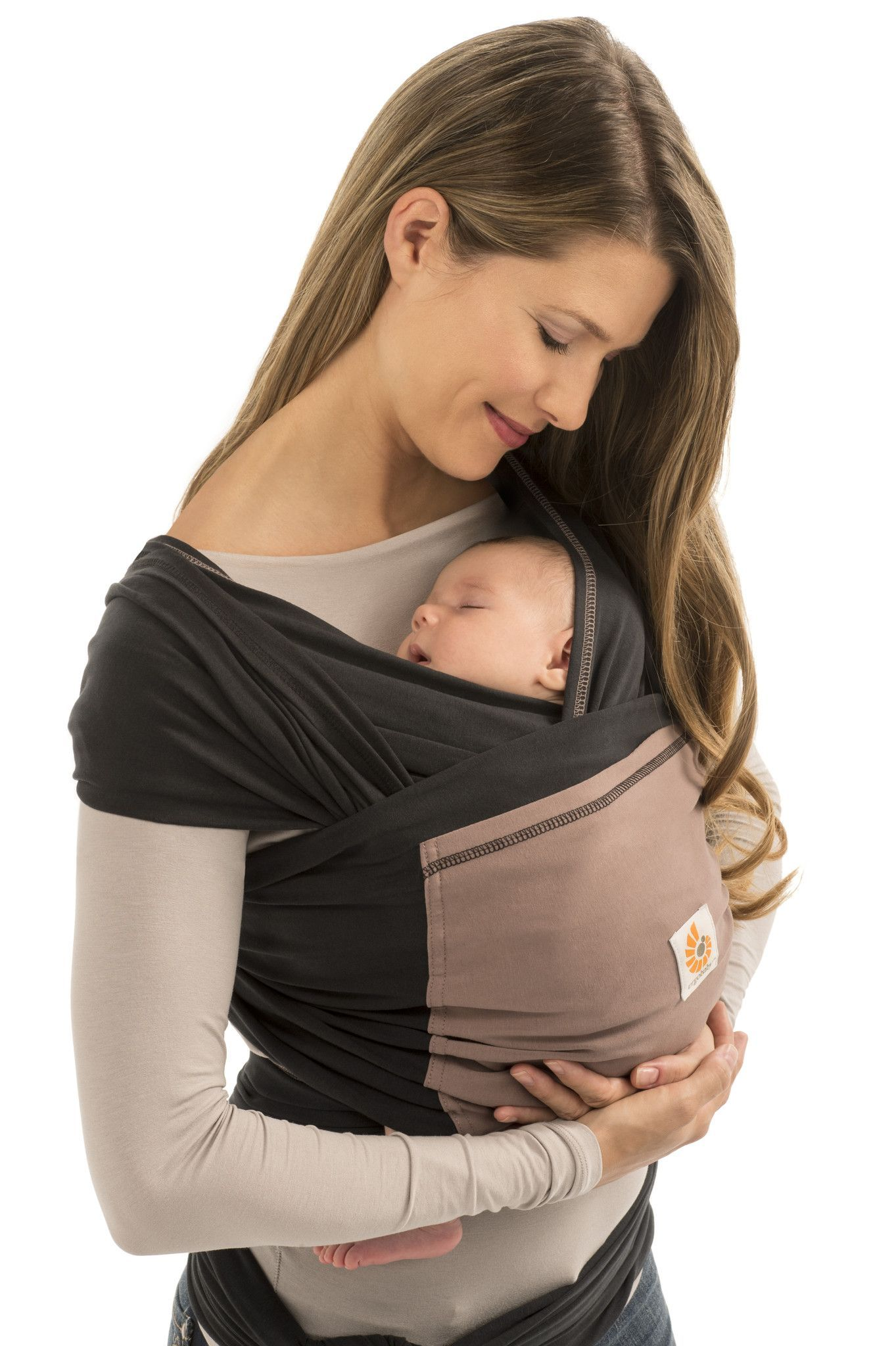 Made from strong 4D Stretch™ material the Ergobaby Baby Wrap flexes in all directions for the perfect fit with the right amount of stretch making it easy