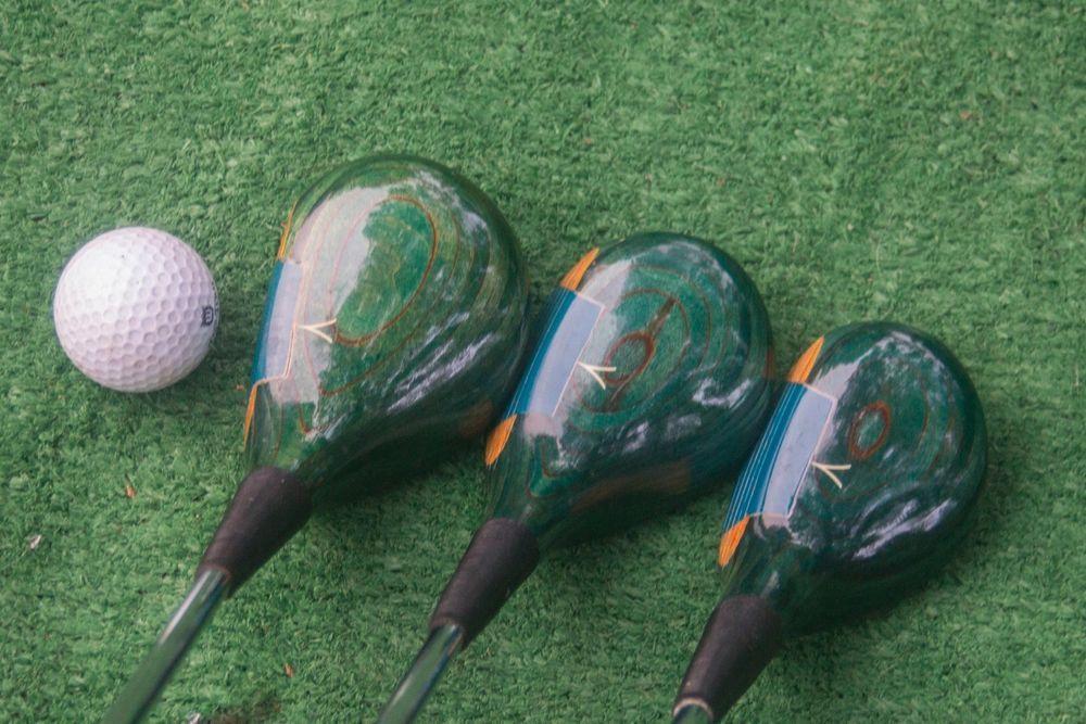 Vintage Delta Mark Iv Green Matched Wood Set 1 3 5 Woods Used Golf Clubs Used Golf Clubs Golf Clubs Vintage