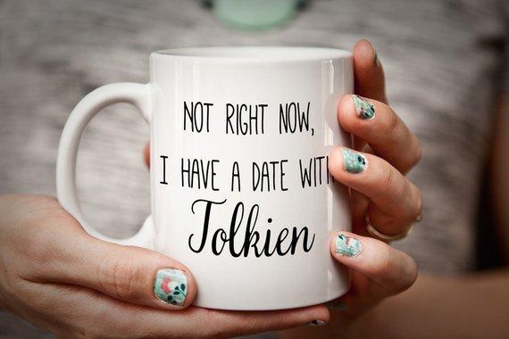 JRR Tolkien mug literary mug for bookworm/book lover