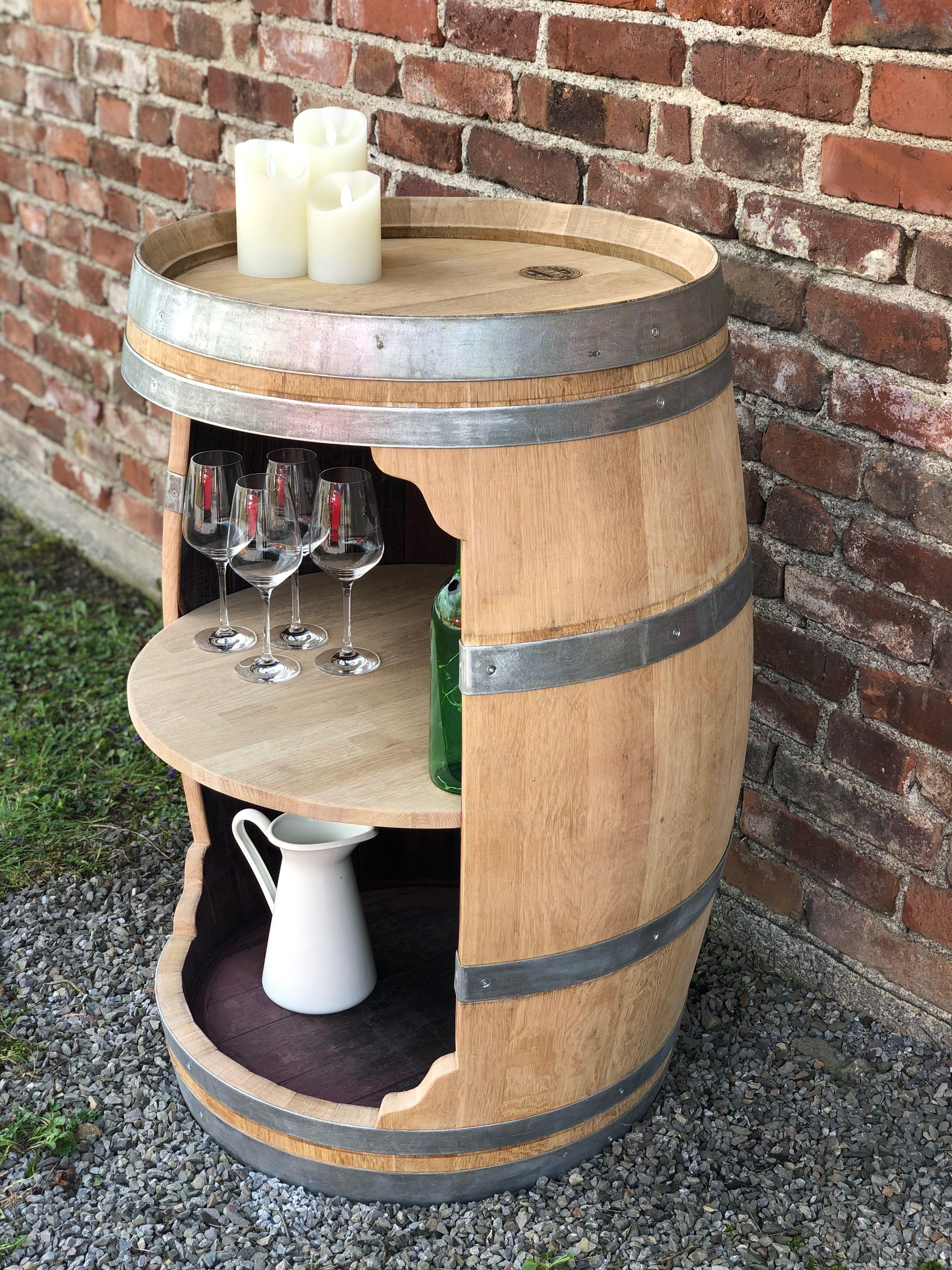 Weinfass Bar Ganzes Fass Grosse Offnung Weinfass Bar Weinfass Weinfass Deko