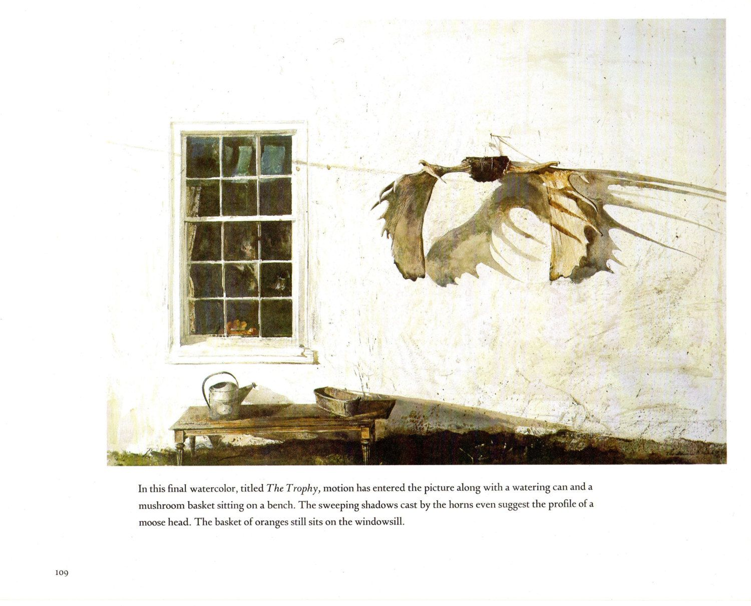 The Trophy Was Painted In 1963 By Andrew Wyeth By