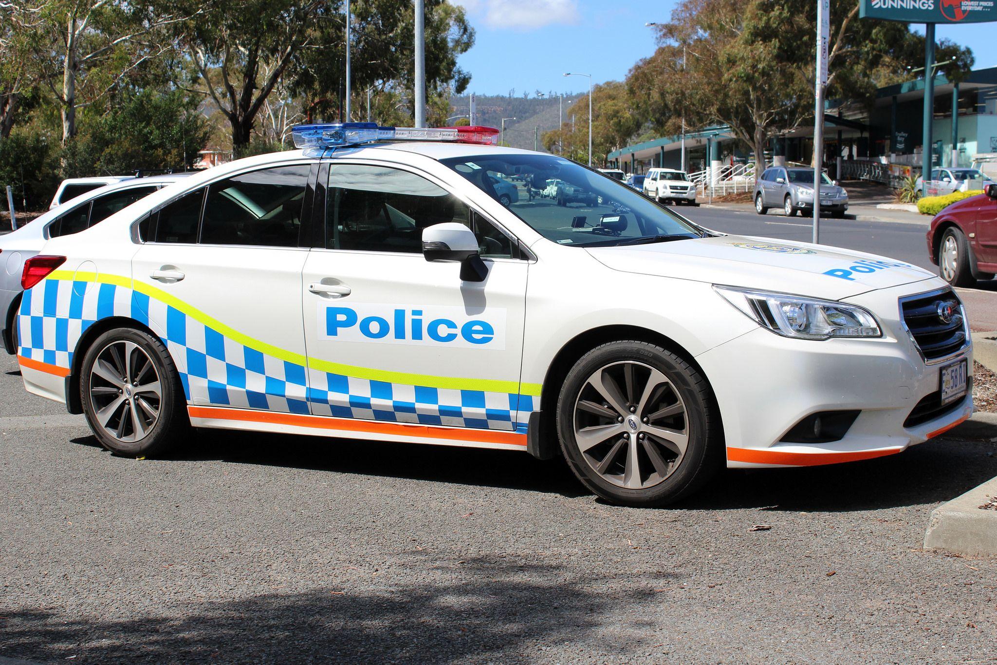 Tasmania Police Highway Patrol Subaru Liberty Police Rescue Vehicles Police Cars