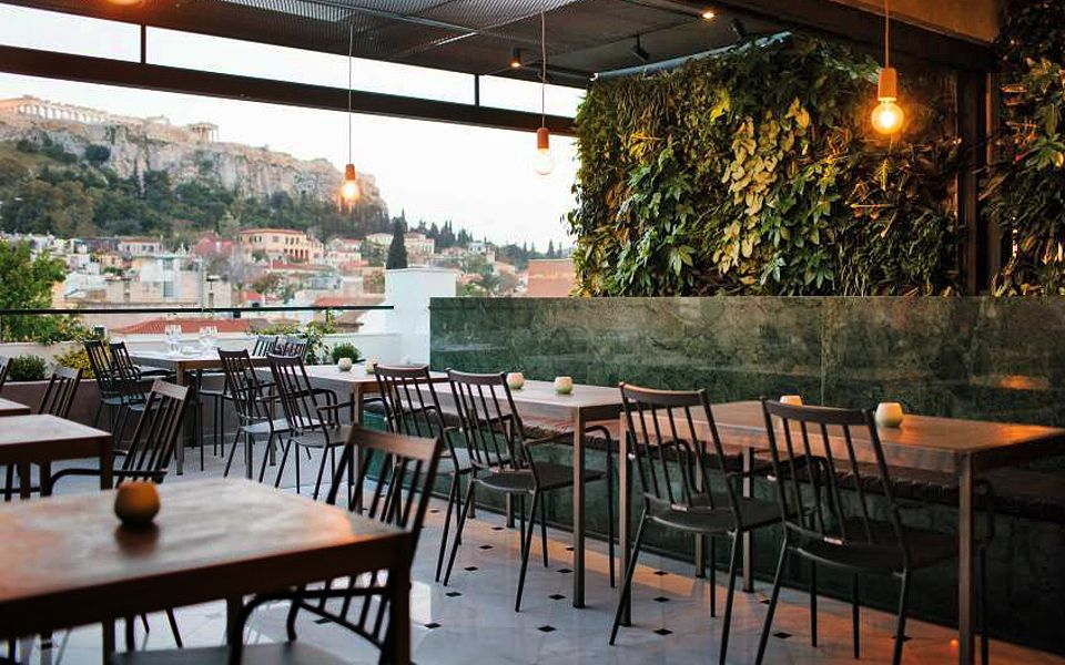 7 Of The Hottest New Hangouts In Athens Greece Is Garden Bar Rooftop Outdoor Furniture Sets