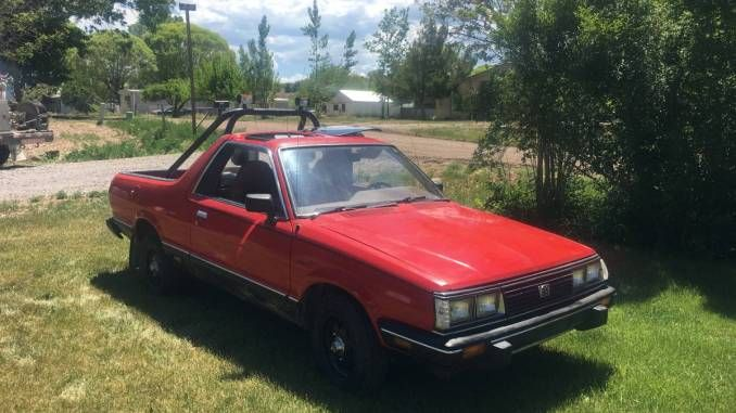 1983 Classic Subaru BRAT All Original Manual For Sale in ...