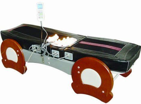 Jade Therapy Massage Bed Table, FIR Far Infrared Spinal