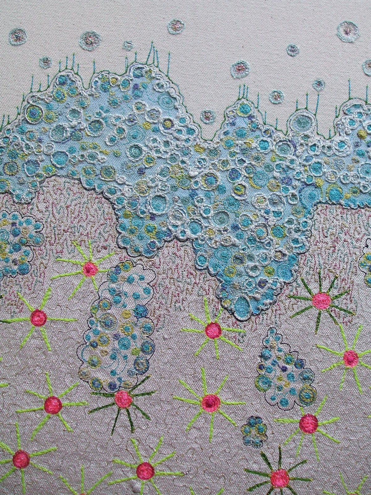 Sewing Machine Stitches, Drop Cloths, Contemporary Embroidery, American  Quilt, Thread Painting,
