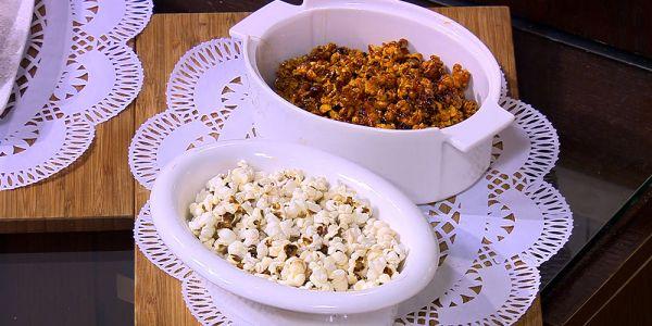 Cbc Sofra طريقة تحضير فشار بالكراميل اميرة شنب Recipe Food Recipes Breakfast