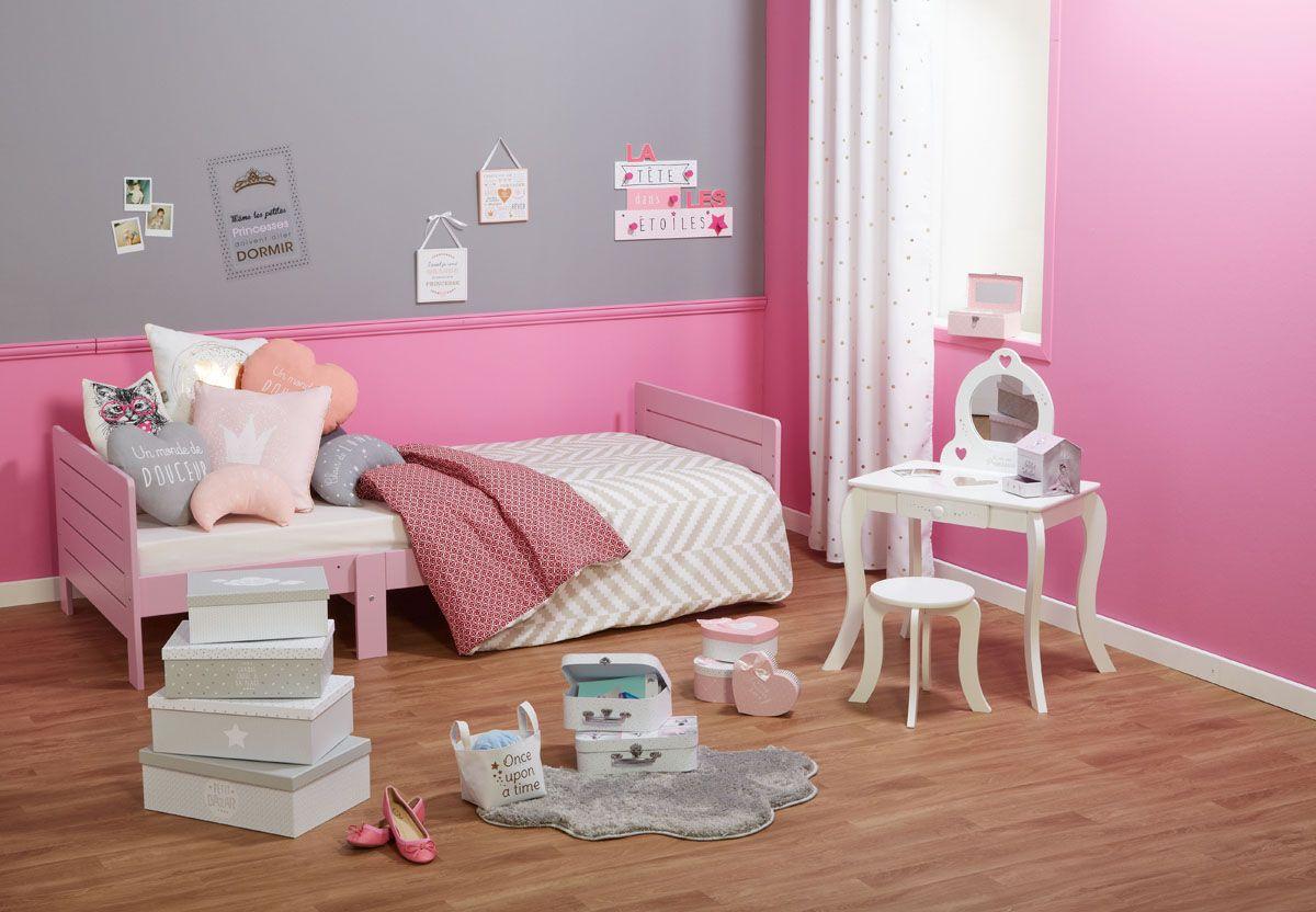 Chambre enfant style princesse → Centrakor  Deco chambre