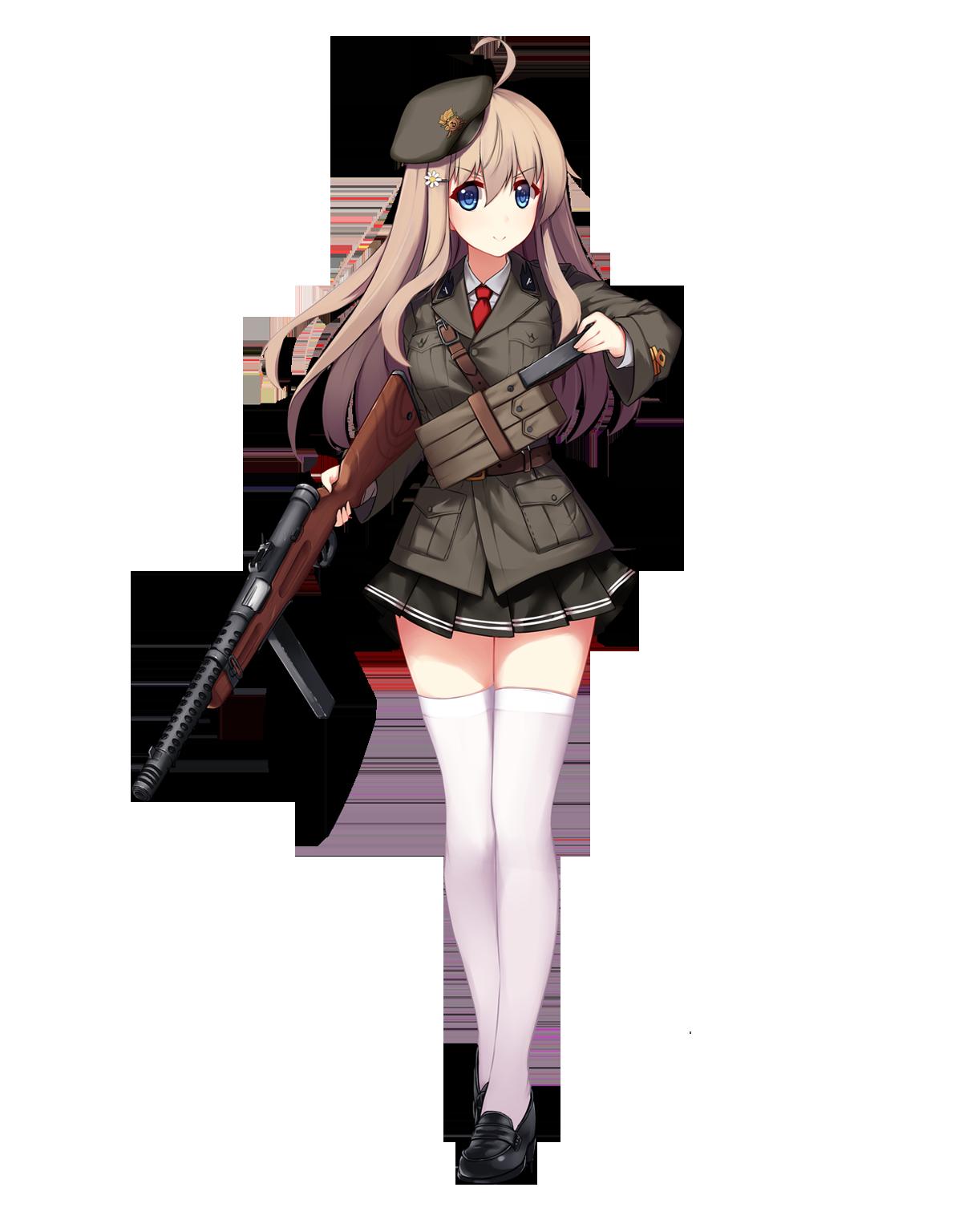 Pin on Anime Girls (Girls n Guns)