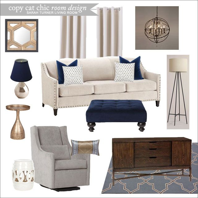Sarah Turner Living Room Copy Cat Chic Room Designs MI NUEVA