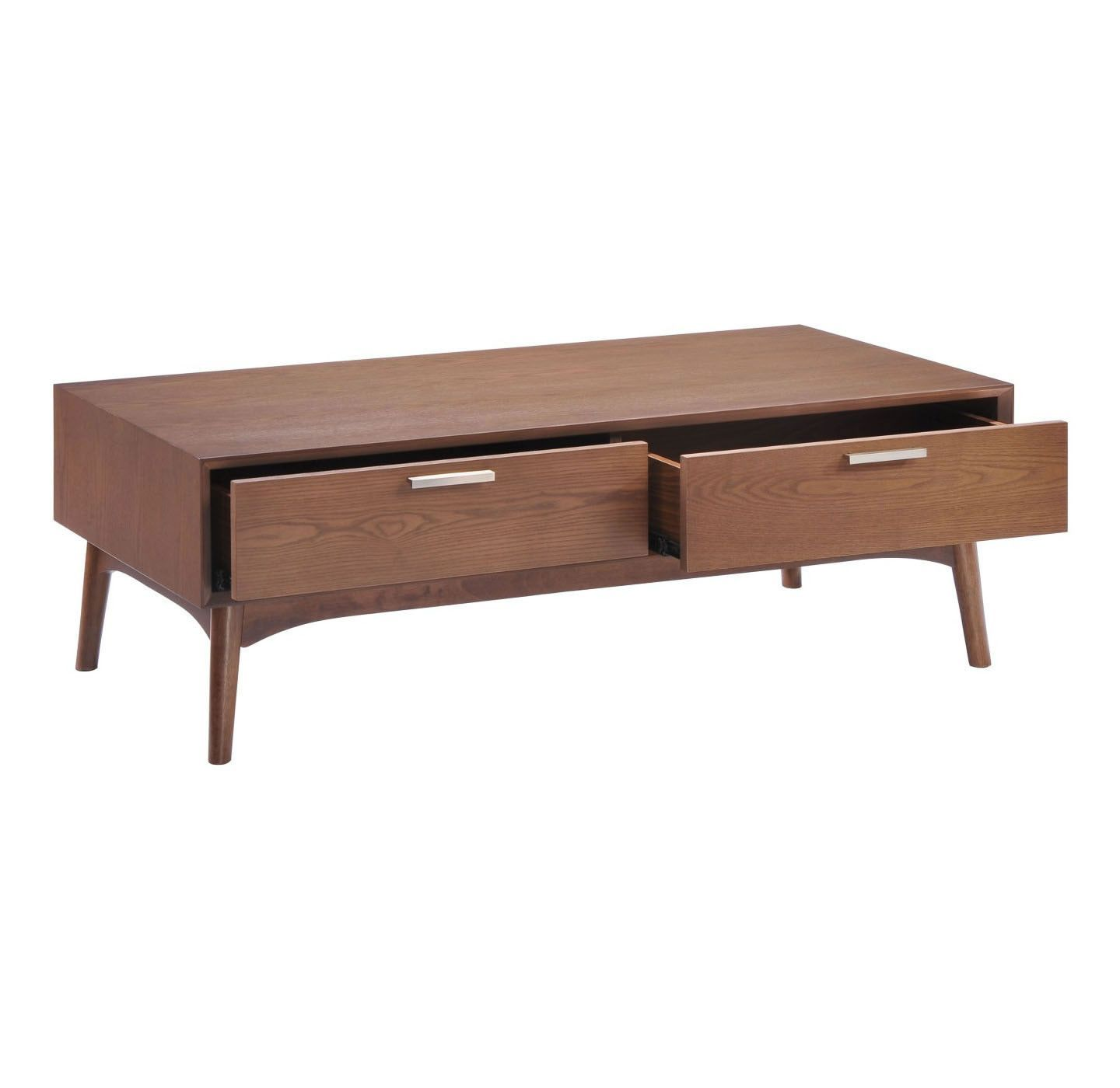Lovely Crafted Mid-Century Modern Tila Coffee Table