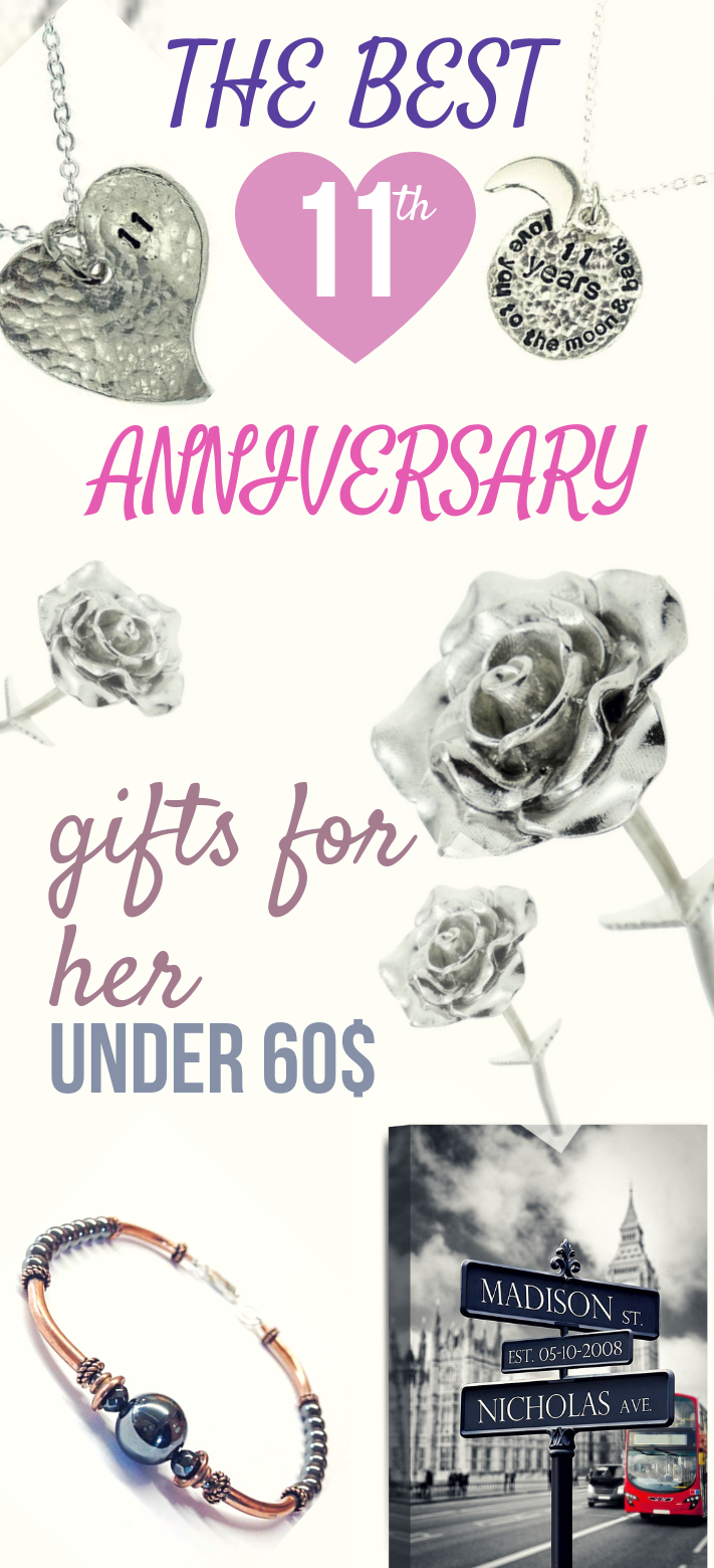 11th Anniversary Gifts For Her Under 60 11th Anniversary Gifts Anniversary Gifts 11th Wedding Anniversary Gift
