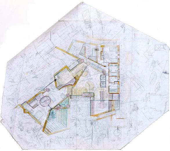 Unseen Drawings Of Carlo Scarpa S Villa Ottolenghi Carlo Scarpa Architecture Drawing Architecture Drawings