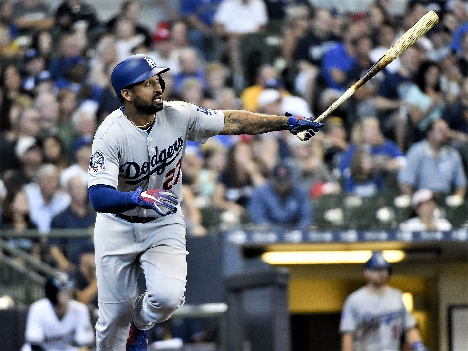 Pin on MLB 2018 Blast off! Players with multiple homers