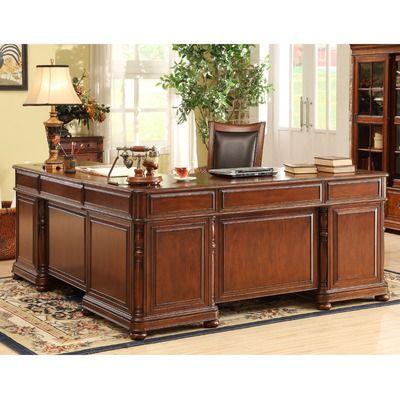 Riverside Furniture Bristol Court L Shaped Desk And Return 68