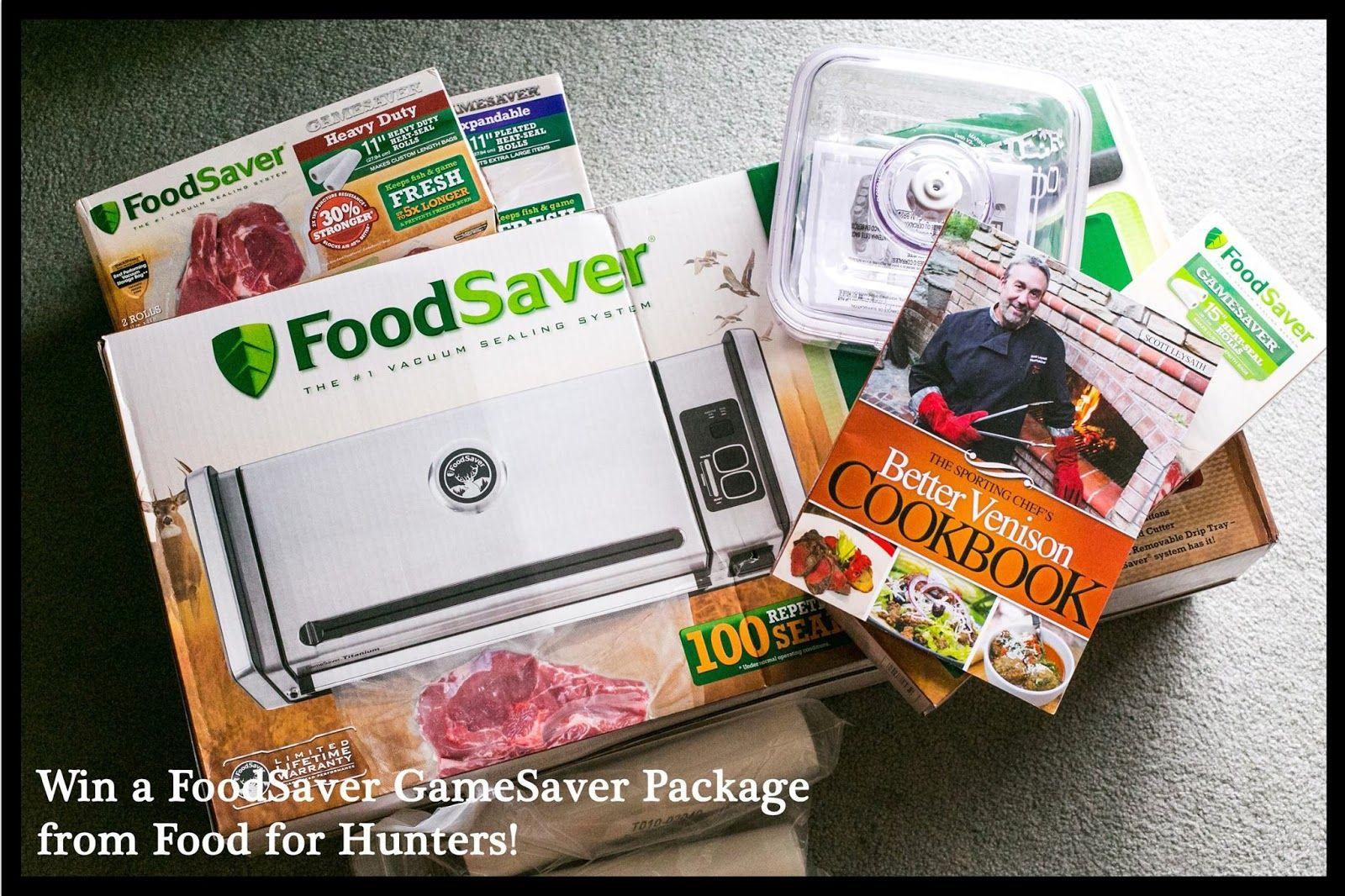 FoodForHunters.com : Win a FoodSaver® GameSaver® Titanium Vacuum Sealer! Enter by Nov. 1!