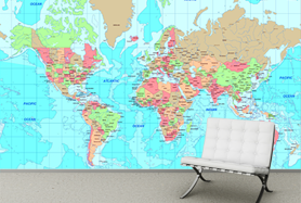 Custom map wallpaper love this idea for the kids playroom custom map wallpaper love this idea for the kids playroom gumiabroncs Choice Image