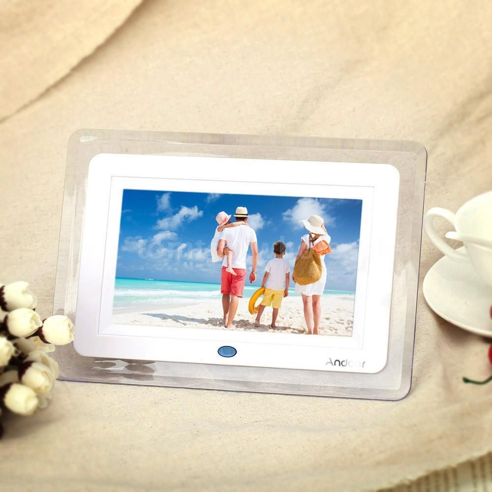 Awesome 7inch hd digital photo frame picture alarm mp4 movie awesome 7inch hd digital photo frame picture alarm mp4 movie player remote control r5e4 jeuxipadfo Image collections