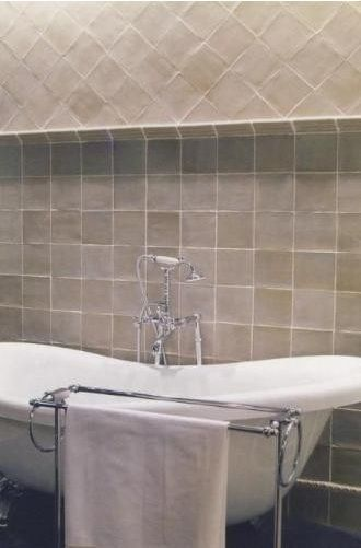Bathroom tiles - Zelliges beige | For the Home | Pinterest | Sdb ...