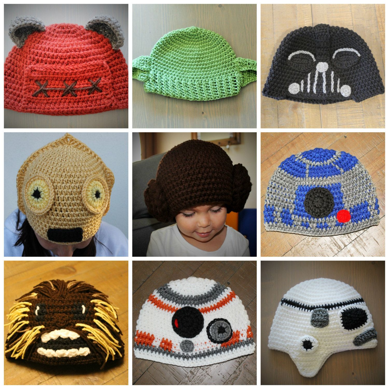 Crochetbydana Star Wars Crochet Crochet Hats Crochet Hat Pattern