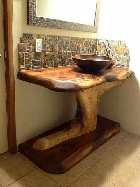 Pin De Elvira Maria En Casas Rusticas Muebles De Bano Rusticos