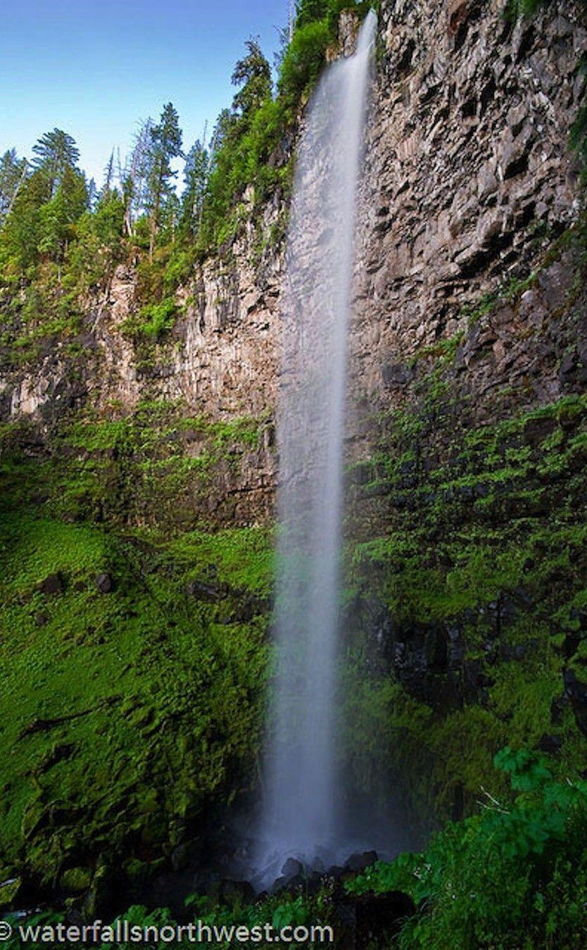 Watson Falls Oregon Waterfalls Southern Oregon Road Trip Places