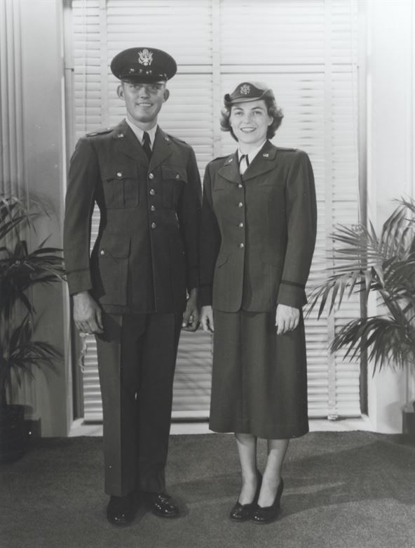 First Uniforms For The New U S Air Force Early 1950 S