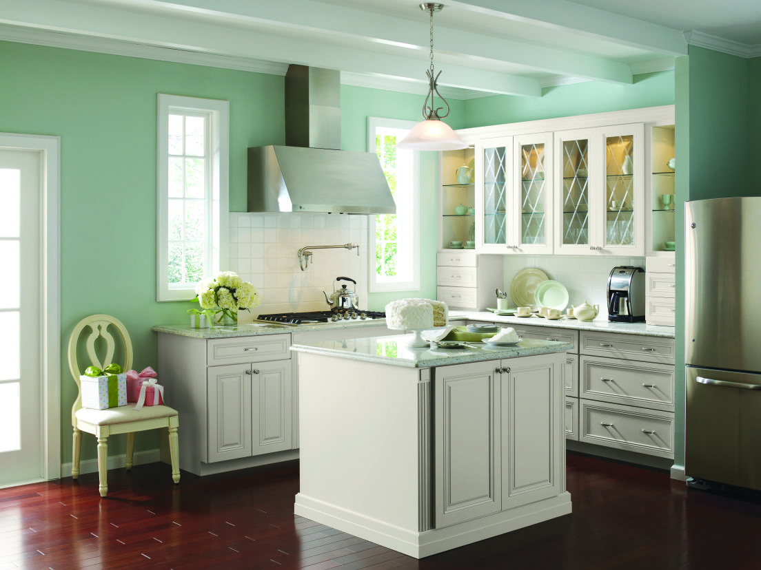 Traditional Kitchen From Martha Stewart Living #Kitchen