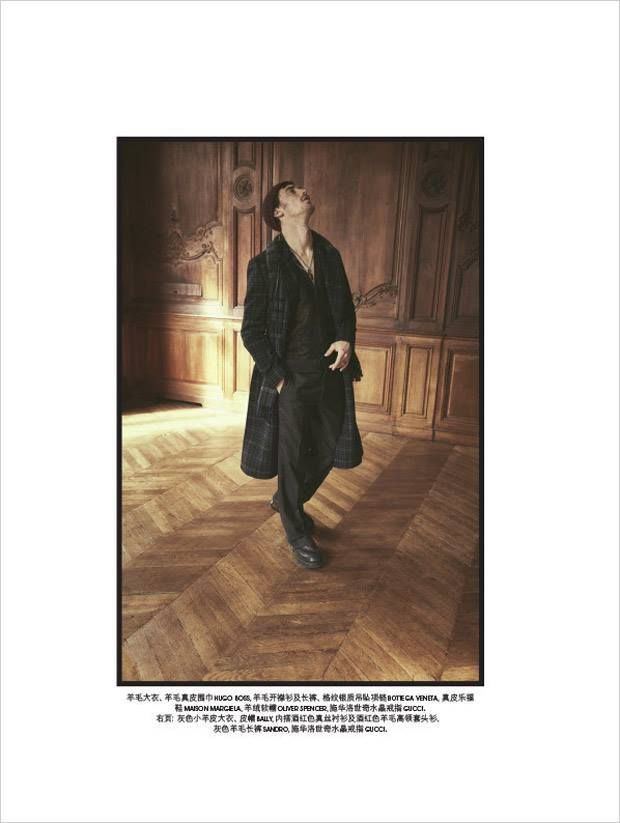 Clement Chabernaud bby Stefano Galuzzi for SKP Magazine