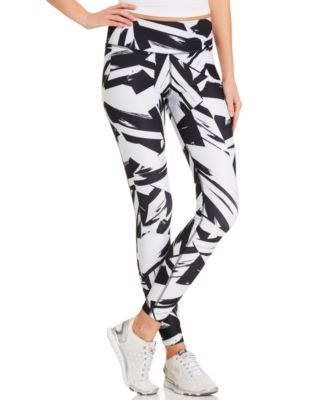 Nike Abstract-Print Dri-FIT® Leggings - Pants & Capris - Women - Macy's