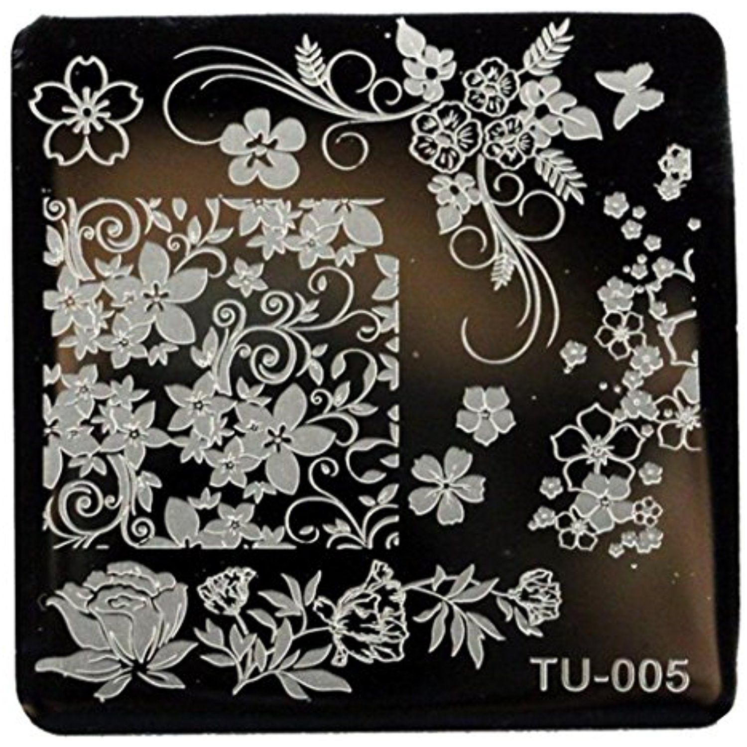 Creazy Pattern Diy Nail Art Image Stamp Stamping Plates Manicure Template Tu 005 Read More