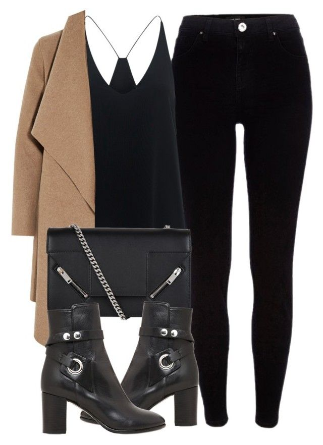 """""""Untitled #6799"""" by laurenmboot ❤ liked on Polyvore featuring River Island, TIBI, Harris Wharf London, Yves Saint Laurent and Isabel Marant"""