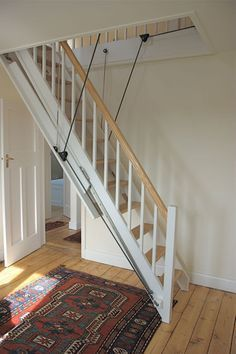 Lovely Marvelous Automatic Attic Stairs #10 Electric Loft Ladder