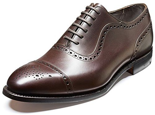 Barker Shoes , Herren Schnürhalbschuhe braun mokka, braun