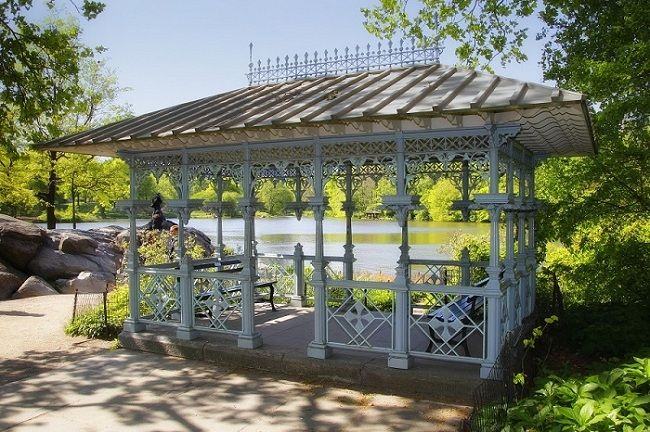 It Has A Quaint Feel Fitting For An Intimate Ceremony In The Park Parasols Are Optional Ladies Pavilion Is Located