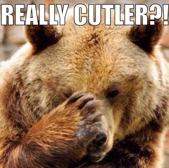 REALLY CUTLER?!.....I really don't get why they signed him