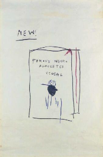 Jean Michel Basquiat, Cereal Box